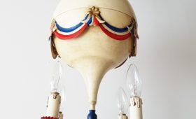 Lustre montgolfière 1950