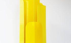 Lampe gratte-ciel en plexiglas 1970